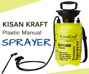 Kisan Kraft Plastic Manual Sprayer