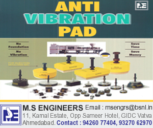 MS ENGINEERS - Anti Vibration Pad Manufacturer in Ahmedabad