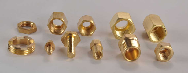Brass Fasteners & Bolts Manufacturer in Jamnagar-Sun Brass Industries