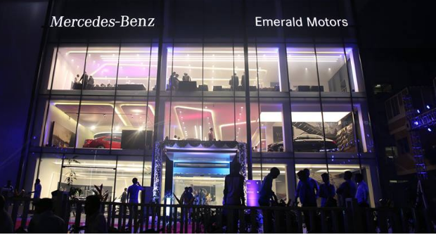 Emerald Motors - Mercedes Benz Showroom in Ahmedabad