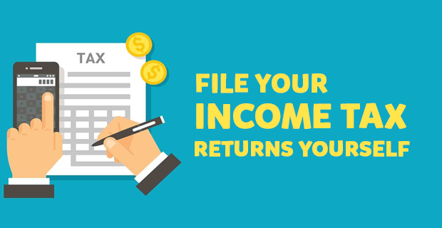 File Income Tax Return Online Yourself