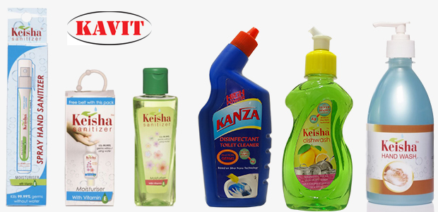 Kavit Polybind Pvt Ltd in Ahmedabad - Hand Sanitizer Manufacture