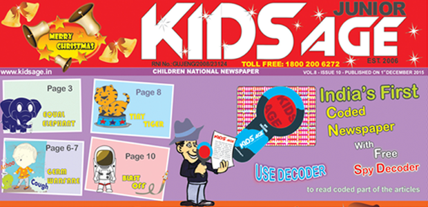 Kids Age Children National Newspaper in Ahmedabad-Kids Newspaper