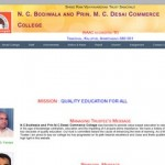 N C Bodiwala College in Kalupur | Prin. M C Desai Commerce College in Ahmedabad