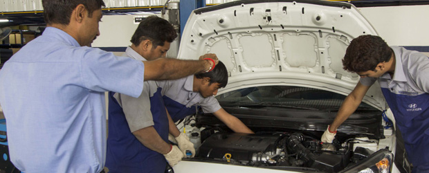 Neighbourhood Motors, Ahmedabad - Hyundai Service Center