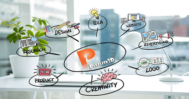 Pixelite3D in Ahmedabad - Graphics Design Services