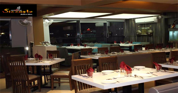 Sizzante veg non sizzlers restaurants in ahmedabad