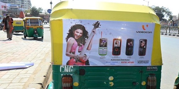Star Advertising, Ahmedabad - Auto Rickshaw Advertising Agency