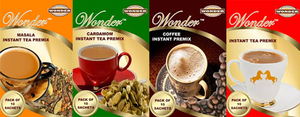 Tea Coffee Premix Powder Manufacturer and Exporter in Ahmedabad-Wonder Beverages