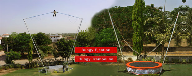Trampoline Games Manufacturer in Ahmedabad - Bungy Ejection