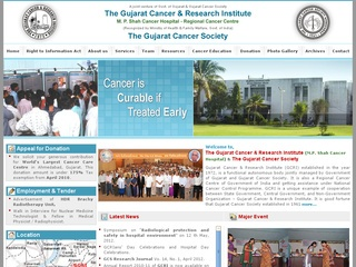 Gujarat Cancer & Research Institute in Asarwa, Ahmedabad