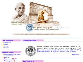 Gujarat Vidyapith in Ashram Road, Ahmedabad | Arts Colleges