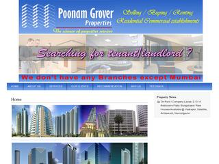 Poonam Grover Properties in Ambawadi, Ahmedabad | Estate Agents