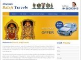 Chennai Balaji Travels in Chennai - Travel and Tours