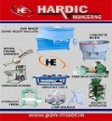Hardic Engineering | Fly ash Pan Mixer Manufacturer, Exporter, Supplier in Ahmedabad