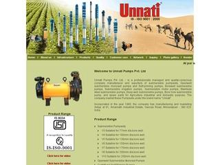 Unnati Pumps Pvt. Ltd. | Submersible Pump Sets Manufacturer